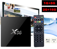 10pcs [Genuine] X96 Android TV box Amlogic S905X Quad Core A...