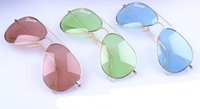 Soscar New Arrival Candy Color Lenses Sunglasses Brand Desig...
