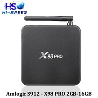 Android tv box X98pro Android 6. 0 Marshmallow S912 smart box...