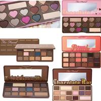 Barra de chocolate Semi Bon Bons 16 Colores Sombra de Ojos Peach dulce 18 colores Sombra de ojos Paleta Cosméticos Maquillaje AAA calidad con precio de fábrica