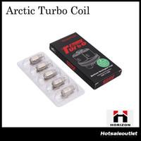 Authentique Horizon Arctic Turbo bobine Tête de bobine de Sextuplet Fit 40W-120W 0.2ohm 0.3ohm 0.6ohm Bobine de coton biologique japonaise 100% Original