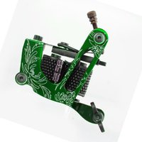 Aluminum Alloy Tattoo Shader Liner Machine 10 Wrap Coils Sup...