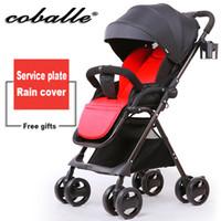 baby stroller high landscape light shock proof foldable port...
