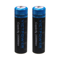 Оптовая 150pcs / серия Victpower Rechargable литий-ионная аккумуляторная батарея 3500mAh 18650 высокого сливного 3500mAh 18650-35A литий-ионный аккумулятор 3500mAh