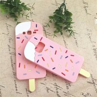 Case For iPhone 7 Plus cas Silicone 3D Love Popsicles glace Soft Silicon Phone Case Pour iphone 6 6s plus 5 5s