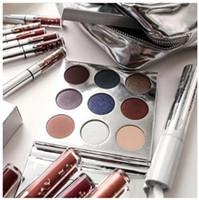 HOT Edition de vacances Kylie cosmétiques Limited Collection Kyshadow Palette maquillage de rouge à lèvres sac de maquillage ombre de crème ombre cadeau de Noël 1pcs