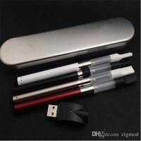 BUD Touch CE3 batería Kit paquete de caja de metal con 510 hilo O Pen Vape aceite CBD atomizador