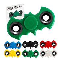 2017 Batman Toys Fidget Spinner Adult Anti Stress 6 couleurs Batman Hand Spinner VS Torqbar Cyclone LED Luminous Fidget Spinners