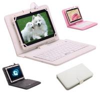 Stocks américains! IRULU Q88 7 pouces Android Tablet PC 4.4 Tablet PC ALLwinner A33 Quade Tablette double caméra 8 Go Tablettes 512MB avec clavier