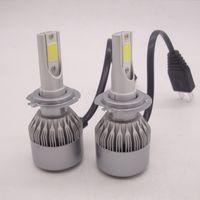 H7 Set Cree Chip Car LED Headlights Conversion Kit 100W 1000...