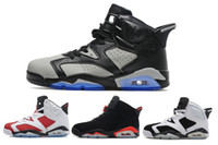 2017 high quality air retro 6 VI mans Basketball shoes Angry...