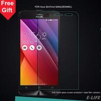 Vente en gros-Pour ASUS ZenFone 2 ZE500CL ZE550ML Laser ZE500KL ZE550KL ZE601KL Zenfone 4 5 Écran de téléphone en verre trempé HD Film protecteur