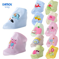 2 pieces lot 0T- 3T Danrol baby double saliva bibs girls and ...