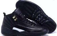 Hot Cheap Retro 12 mens basketball shoes White TAXI Flu Game...