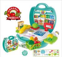 7 Style Safe Plastic Kitchen Toys Food Fruit Vegetable Cutti...
