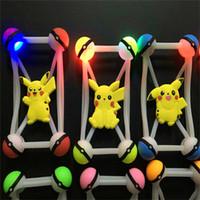 4. 5- 6' ' universal poke pikachu LED Lamp Bumper Cas...