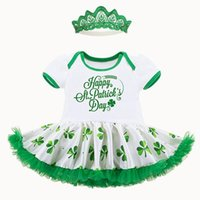Baby Girls Lace Rompers 2017 Newbown TUTU Dresses+ Headband 2...