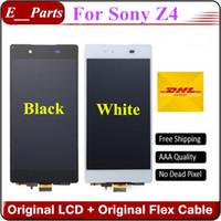 Pour Sony Xperia Z4 Z3 + z3 plus LCD E6553 E6533 E5663 Écran LCD Originale AAAAAA + Affichage Écran tactile Digitizer Assemblée Par DHL