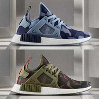 (With shoesBox)10 Colours Hot Sale NMD XR1 Men And Women Bla...