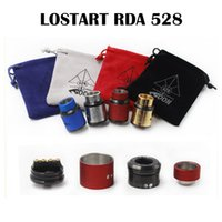 Lost Art 528 RDA Goon Lost Art Edition Atomiseur RDA 24MM Goon Lostart avec Large Doseur Tip Peek Insulators Fit 510 Mods Nouveau