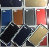 For iphone 7 7 plus Clone Leather Case Slim PU protector Cop...