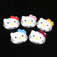 Wholesale- High Quality Mini Clip kitty Mp3 Player With TF C...