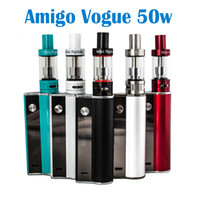 Amigo Vogue 50W комплект с мини-Riptide Катушки 5 цветов, доступных Kit Vogue 50W против Amigo Mini Vogue 50w Kit