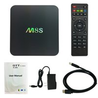 Factory Sale M8S Smart Android TV Set Top Box Amlogic S812 Q...