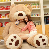 1PC 100cm The American Giant Bear Hull , Teddy Bear Skin Hig...