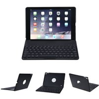 F8S LED Backlit Aluminium Bluetooth Keyboard Smart Folio Cas...