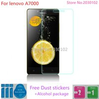 Wholesale- For lenovo A7000 Tempered Glass 0. 26mm 2. 5D Round...