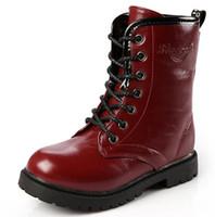 Fashion Children Autumn Winter Boots Boys Girls Child Snow B...