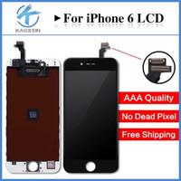 Qualité AAAFor iPhone 6 LCD 4.7 affichage écran tactile Digitizer Assemblée Livraison gratuite DHL