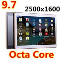 9.7 pouces Tablet pc Octa Core MTK Android 5.1 4G LTE appel téléphonique Dual Sim Camera 4 Go + 64 Go IPS GPS pad phablets comprimé mini pc 7
