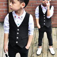 Popular Sale Kids Suits Comfy Cotton Outfits Baby Boy Newbor...