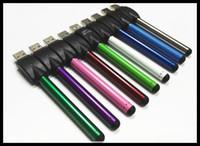 Auto Ce3 batterie 510 fil 280mAh mince bourgeon toucher stylo e stylo stylo huile de style vapeur stylo batterie électronique fumeur huile vaporisateur DHL