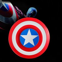 Super héros Captain America Shield Spinner à la main Iron Man Fidget spinners Alece Puzzle Toys EDC Autisme ADHD Fingers Gyro Toy OTH443