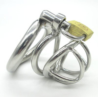 NEW Stainless Steel Super Small Male Chastity device Adult C...