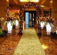 33 Feet  lots Shiny Gold Pearlescent Aisle Runner T Station ...