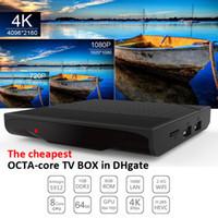 Android ott tv box octa core Amlogic S912 Km8 p 1GB 8GB Stre...
