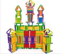 Оптово 315 шт Смарт Бар преграждает Magic Wand Викторина Stereo Мудрость большое здание Модель Логические Обучающие Интеллектуальные игрушки для детей