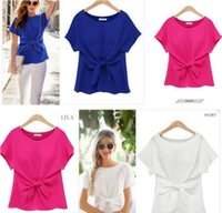 T- Shirts Womens Fashion Clothing Chiffon Women' s Summer...