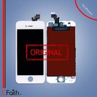 Pour l'affichage complet blanc de l'écran tactile d'écran tactile de l'iPhone 5 LCD la livraison libre de DHL