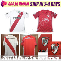 River Jersey 2018 Camiseta de futbol LARRONDO ALONSO CASCO LOLLO MARTINEZ chemises de football 17 18 River Plate Soccer Jerseys