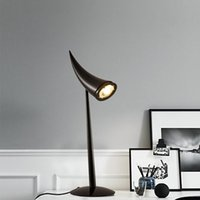 Ox Horn Table Lamp Modern Minimalist Fashion Hotel Lobby Off...