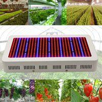Полный спектр 600W светодиодный завод расти свет лампы Красный / синий / белый / UV / IR AC85 ~ 265V для гидропоники теплиц и комнатных растений Цветущие Выращивание