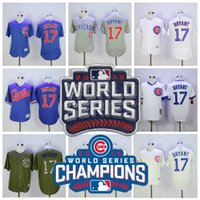 2016 World Series Champions patch Chicago Cubs 17 Kris Bryan...