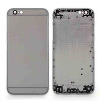 Pour iPhone 6 4,7 pouces Couverture arrière Housse de remplacement avec plateau de carte Touche de contrôle de volume Touche d'alimentation avec livraison gratuite
