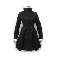 Wholesale Promotion Real Zipper Down Coat for Women Beautifu...