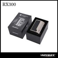 Authentique Wismec Reuleaux RX300 TC Box Mod VW Contrôle de la température 300W Quatre 18650 Mod de la batterie pour 510 Thread Atomizer Version régulière seulement